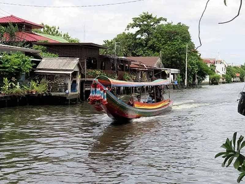 promenade bateau klong bangkok